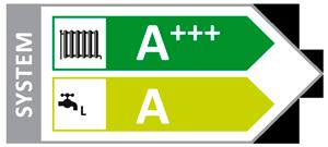 Energetická třída A+++ tepelného čerpadla země/voda